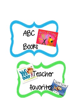 Library Book Bin Crate Labels - Organization Library -