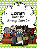 Library Book Bin Labels {Avery Stickers}