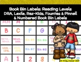Library Book Bins: Reading Levels & Numbered Bins