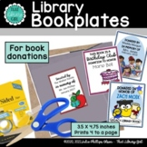 Library Book Bookplates | Birthday Club Bookplate | Social
