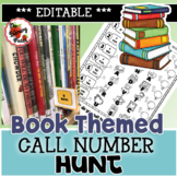 Library Book Call Number Hunt