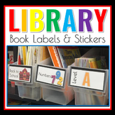 Library Book Labels {NEWLY REVISED}