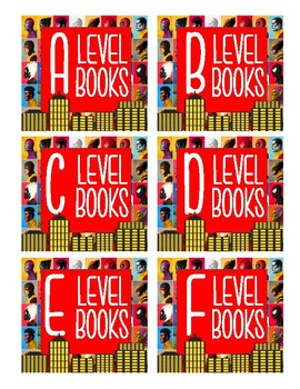 Library Book Labels A-Z Superhero Theme FREEBIE