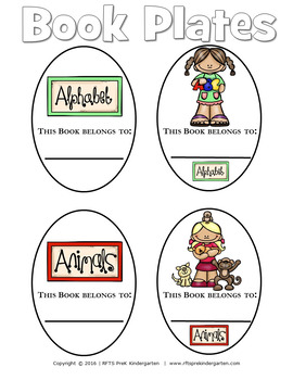 Library Book Plates