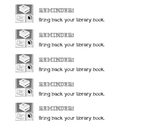 Library Book Reminder