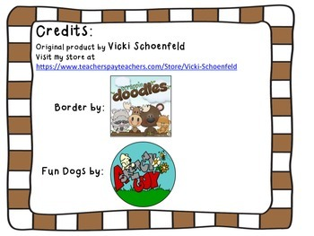 Library Book Renewal Bookmark Dog Theme