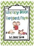 Library Book Request Form