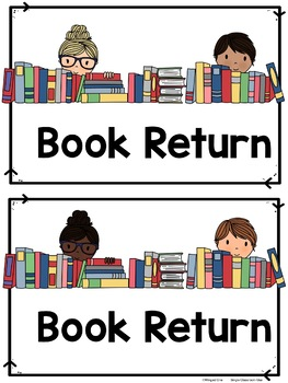 Library Book Return Labels