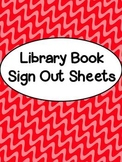 Library Book Sign Out Sheets