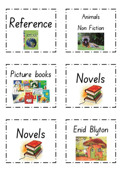 Library Book labels