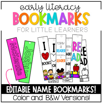 Library Bookmarks