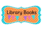 Library Books and Book Hospital Signs (8 Designs)