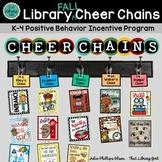 Library Cheer Chains - Fall Behavior Badges