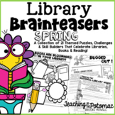 Library Brainteasers - Spring Library Lessons
