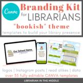 Library Branding Starter Kit: Bookish Theme - Editable TEM