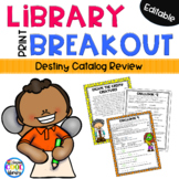 Library Breakout - Library Catalog Review (Destiny)
