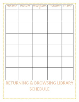 Library Browsing Chart