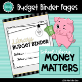 Library Budget Tracker | Binder Pages | Library Planner