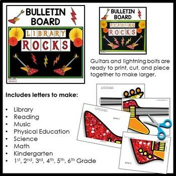 Library Bulletin Boards Bundle