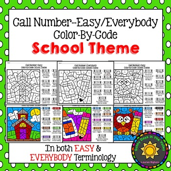 Library Call Numbers: Color-By-Code EASY/EVERYBODY