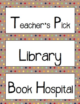 200+ Classroom Library Cards [Brown Paper & Sharpie]