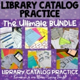 Library Catalog Practice   The Ultimate BUNDLE