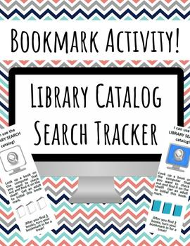 Library Catalog Search Bookmark Activity