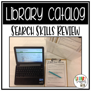 Library Catalog Search Skills Review