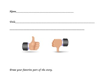 Library Center Book Review Form