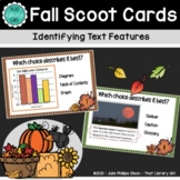 Library Center - SCOOT Cards - Identifying Text Features