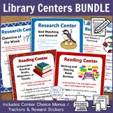 Library Centers BUNDLE! {Printable + Digital}
