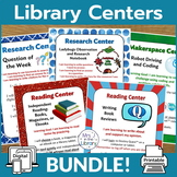 Library Centers BUNDLE! {Printable + Digital}