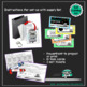 Library Centers - Ozobot Ozobots (Robotics) with 10 Task Cards