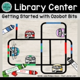 Ozobots Library Center with 10 Task Cards
