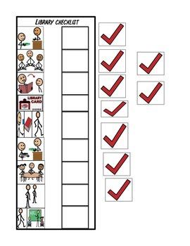 Library Checklist Schedule