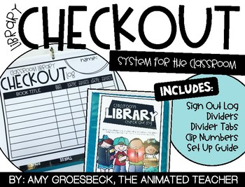 Library Checkout Binder Kit