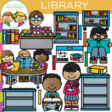 School Library Clip Art