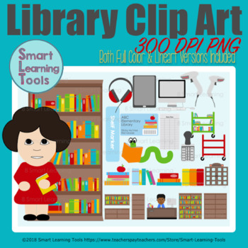 Library Clip Art