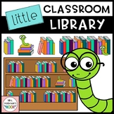 Library Clipart: Little Classroom Library