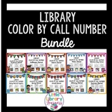 Library Color by Call Number BUNDLE