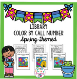 Library Color by Call Number- Spring Themed