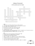 Library Crossword