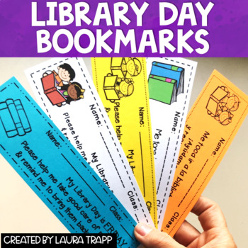 Library Day Bookmarks