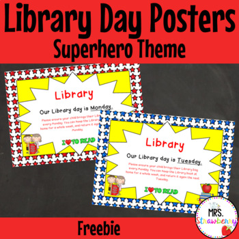 Library Day Posters