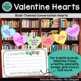 Library Decor | Book-Themed Valentine Conversation Hearts