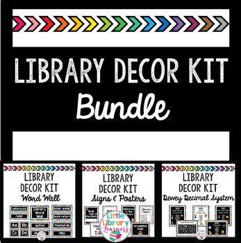 Library Decor Kit BUNDLE