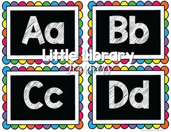 Library Decor Kit- Word Wall
