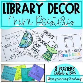Library Decor Mini Posters
