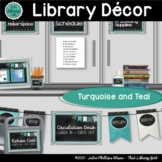 Library Decor | Library Shelf Labels | Banner | Signs | Tu