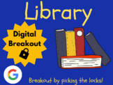 Library - Digital Breakout! (Escape Room, Brain Break, Scavenger Hunt)